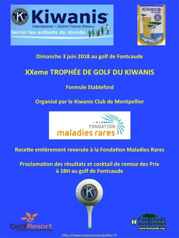 Trophe e de golf